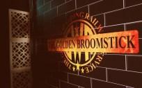 The Golden Broomstick, Magic Alley in Stratford-upon-Avon ©Stratfordblog.com