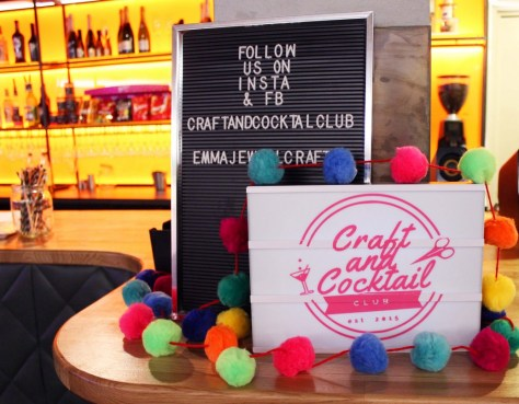 The Craft and Cocktail Club at Hooray's - one of the top 5 drinks experiences in Stratford-upon-Avon