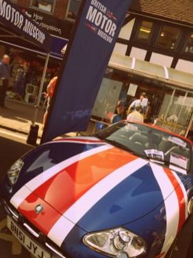 A jaguar at the Stratford Festival of Motoring ©Stratfordblog.com