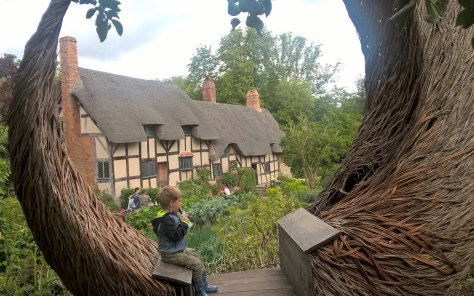 The Big Picnic at Anne Hathaway's Cottage