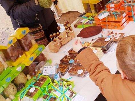 Easter's chocolate festival on Henley Street ©Stratfordblog.com