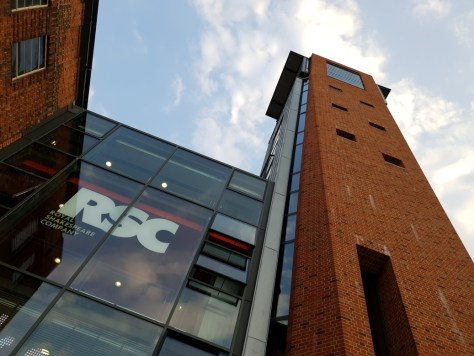 The air-conditioned theatres of the RSC are great places to cool down in Stratford-upon-Avon ©Stratfordblog.com