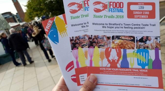 Stratford Town Centre Food Festival Taste Trail 2018 ©Stratfordblog.com