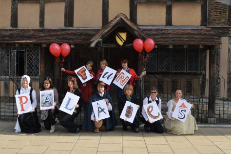 There will be a Fun Palaces event in front of Shakespeare's Birthplace in October