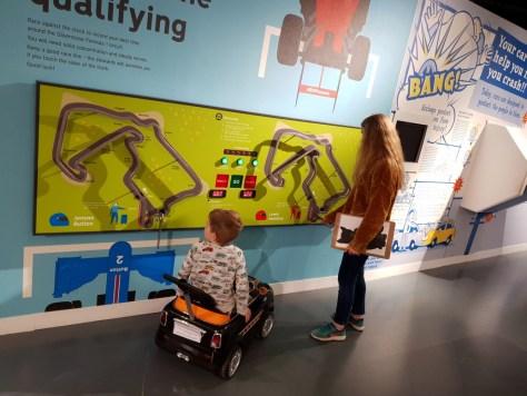 Family games at the British Motor Museum ©Stratfordblog.com
