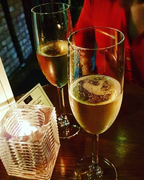 Have fizz ready - one of the top Christmas tips from Loxleys, Stratford-upon-Avon