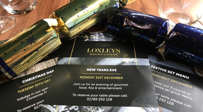 Christmas tips from Loxleys, Stratford-upon-Avon