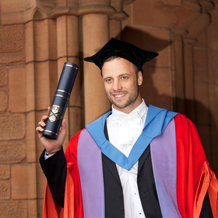 pistorius degree