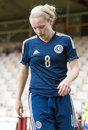 Scotland v Sweden Women's World Cup Qualifier 14 June 2014