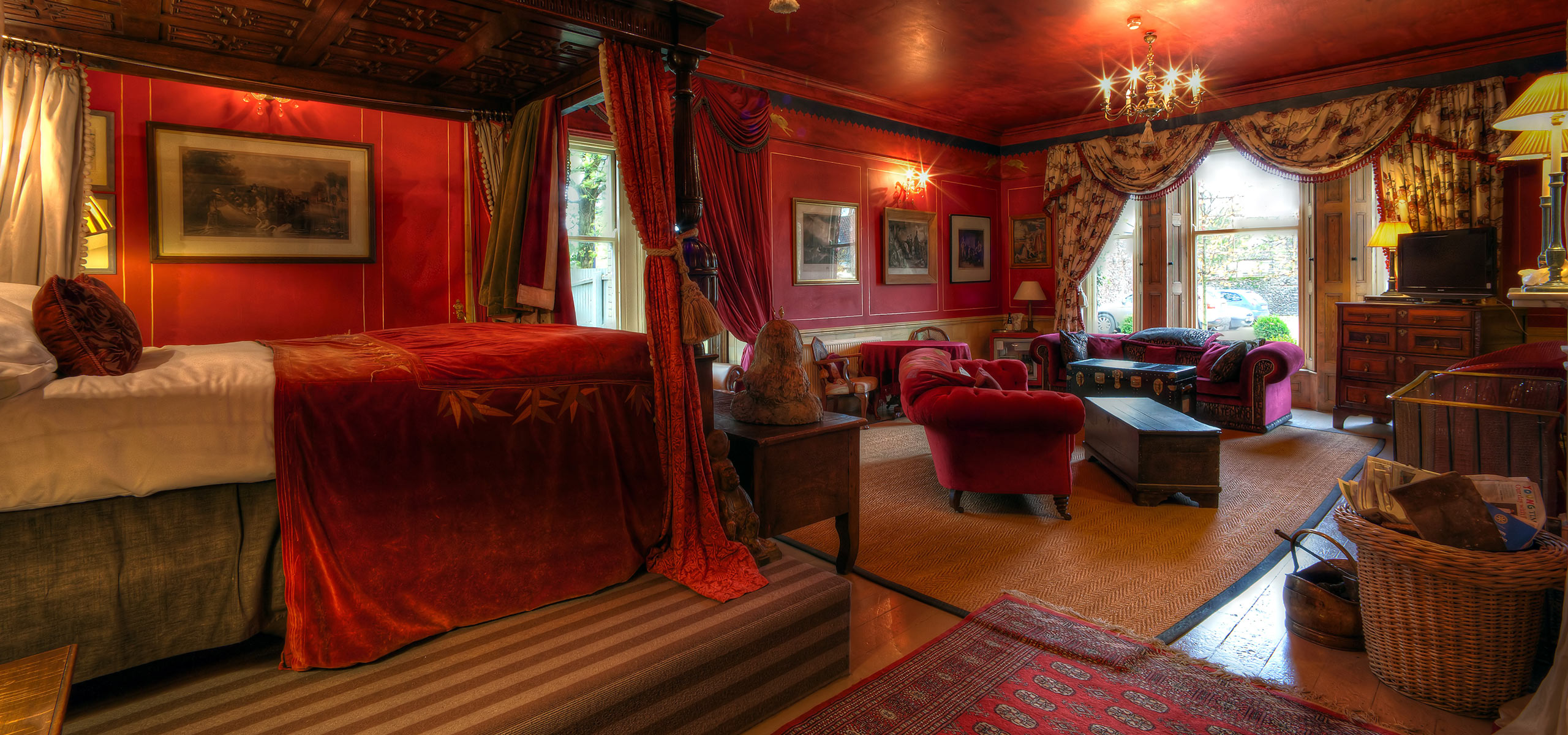 Red Room Strattons Hotel Luxury Boutique Hotel