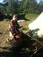 Teresa lager mat til konkurransen