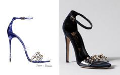 Designer Slipper - Jerome C. Rousseau