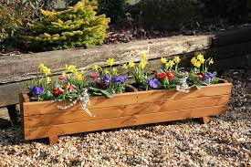 Tom Chambers Harlow Trough Planter available from Strawberry Garden Centre Uttoxeter