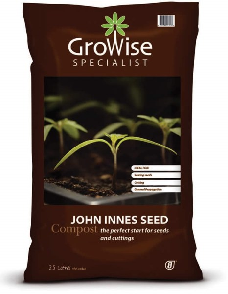 Growise John Innes Seed Compost - 50 litres available from strawberry garden centre Uttoxeter