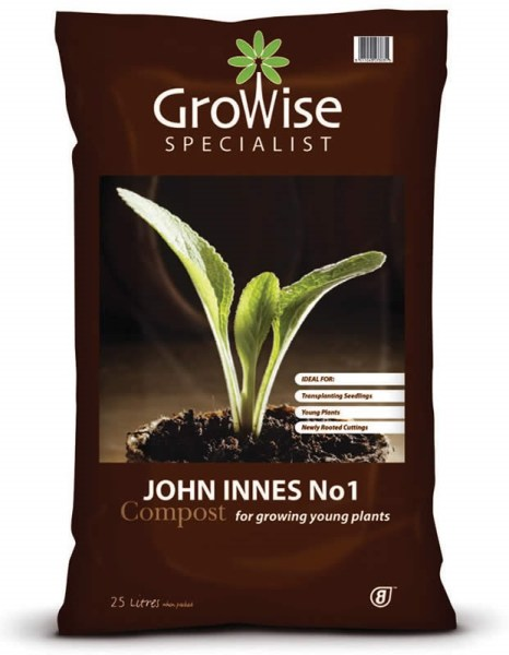 Growise john innes no. 1 compost available from strawberry garden centre uttoxeter