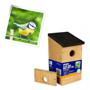 Gardman A04381 basic multi nest box available from Strawberry Garden Centre, Uttoxeter