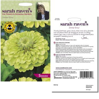 sarah-raven-zinnia-envy-seeds-available-from-strawberry-garden-centre-uttoxeter