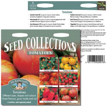 Mr. Fothergill Tomato Seed Collection available from Strawberry Garden Centre, Uttoxeter
