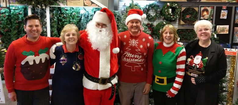 Christmas Saturday 2nd December at Strawberry Garden Centre, Uttoxeter