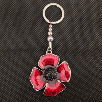 Equilibrium 274405 Poppy Key Ring available from Strawberry Garden Centre, Uttoxeter