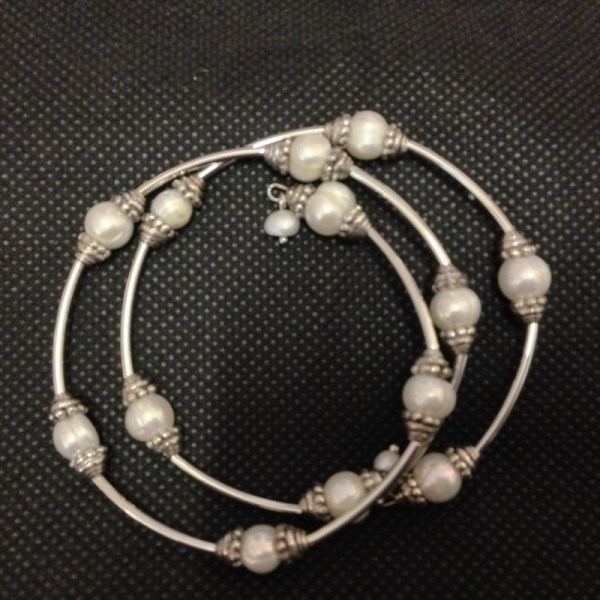 Equilibrium 64160 Pearl wrap around Bracelet available from Strawberry Garden Centre, Uttoxeter