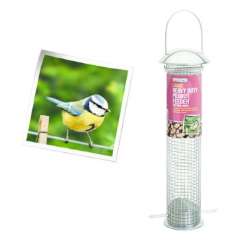 Gardman A01041 Large Heavy Duty Nut Feeder availlable from Strawberry Garden Centre, Uttoxeter
