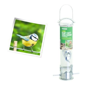 Gardman A01044 Large Heavy Duty Seed Feeder available from Strawberry Garden Centre, Uttoxeter