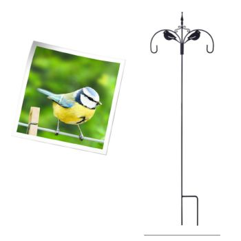 Gardman A01274 Robin Decorative Double Hook available from Strawberry Garden Centre, Uttoxeter