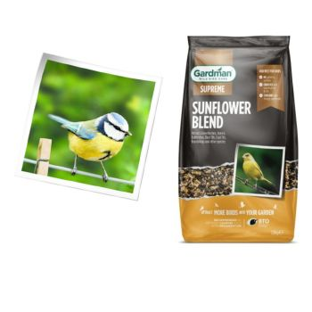Gardman A09102 sunflower feed 1.8kg available from Strawberry Garden Centre, Uttoxeter