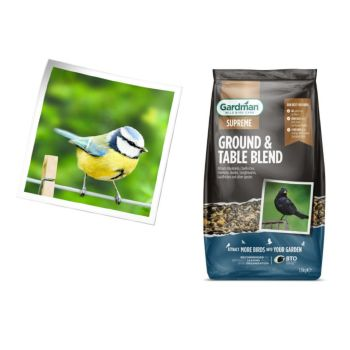 Gardman A09202 ground & table seed blend 1.8kg available from Strawberry Garden Centre, Uttoxeter