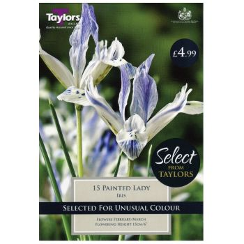 Taylors Bulbs SE1460 Iris Painted Lady available from Strawberry Garden Centre, Uttoxeter