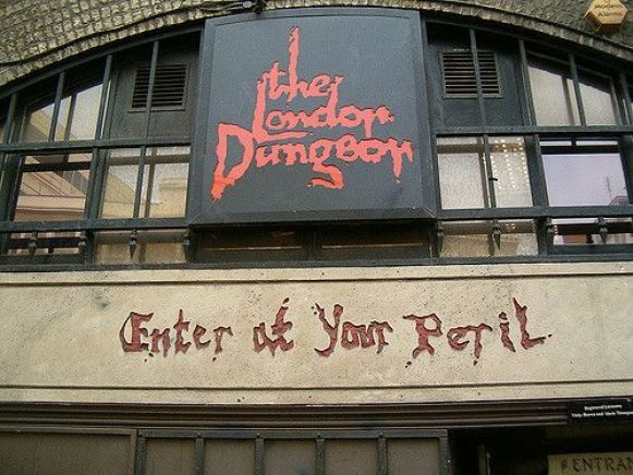 Image result for london dungeon building
