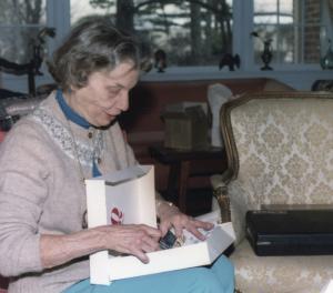 Mary L. Knight at Christmas