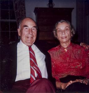 Mary L. Knight with Second Husband R. Barclay Knight