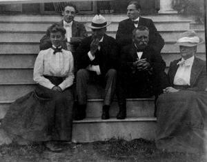 Sailer Engagement - George Strawbridge Next to his Wife at Right