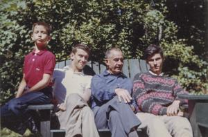 William Wilson White and His Three Sons