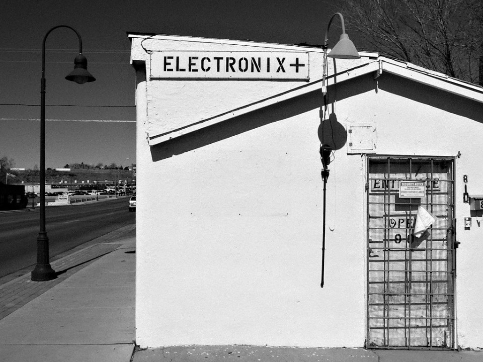 Black and White Photography in Holbrook, Arizona.