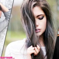 Gorgeous Gunmetal Gray Hair