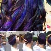 Oil Slick Hair Color Is One Of The Most Amazing Things You've Ever Seen With Hair