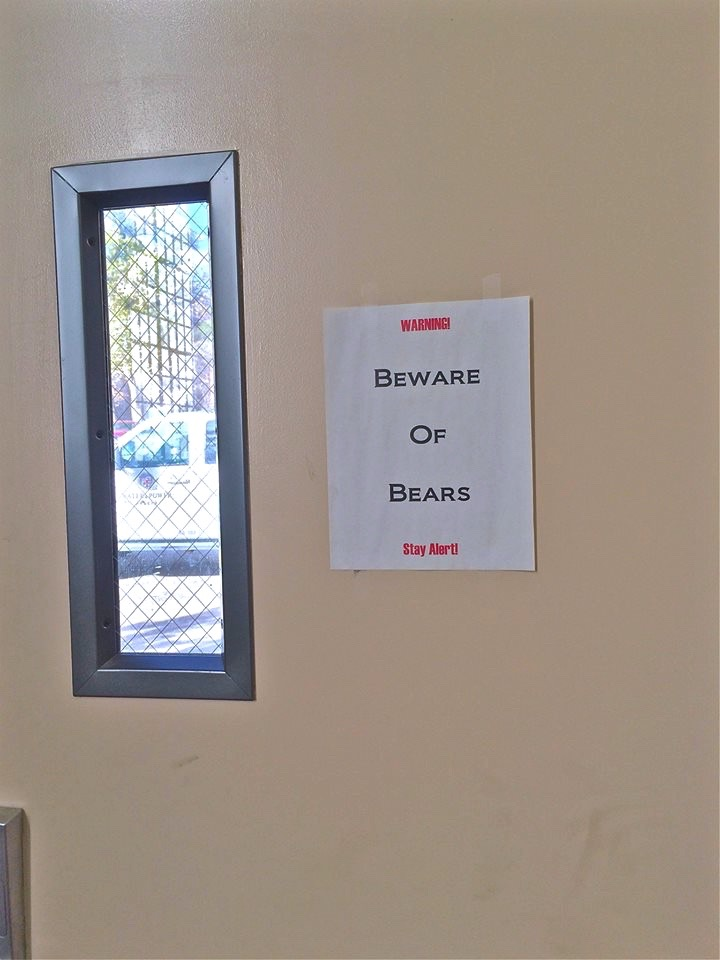 Watch out for da bears.