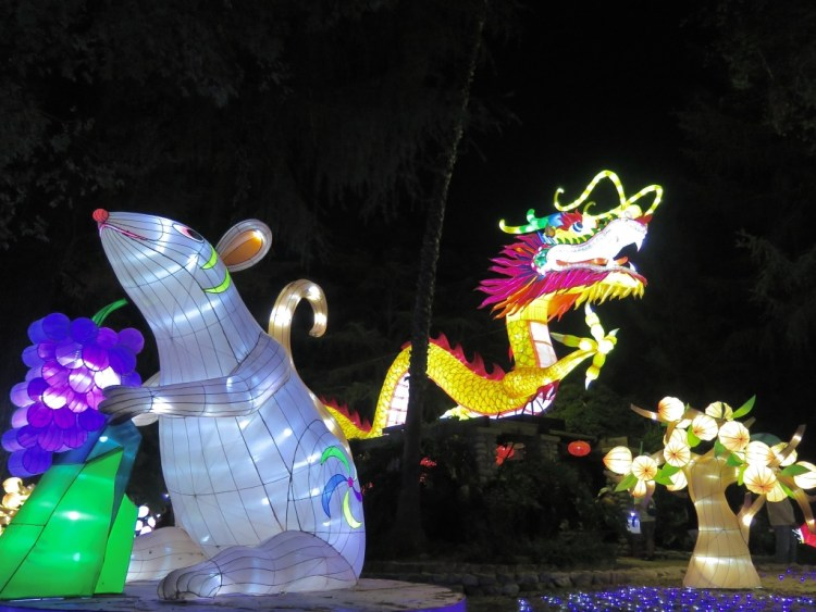 Covering over 2 ½ acres, LUMINASIA has transformed the picturesque hill adjacent to the LACF Midway into a wonderland of color and light and is the first time the ancient craft of Chinese Lantern art has been presented on this scale in Southern California.