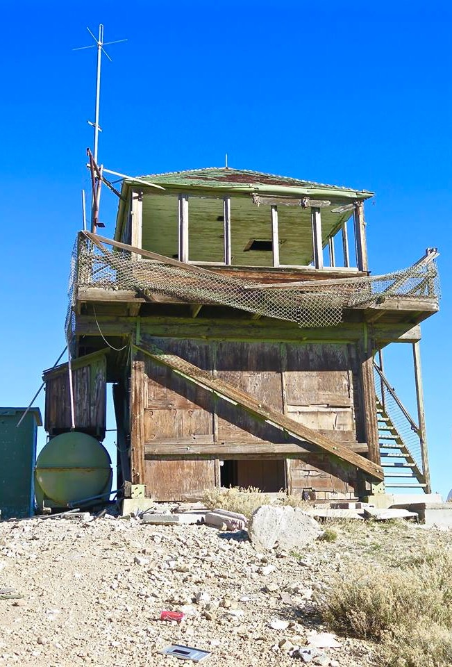 "Such is the case with this beauty, the now abandoned Frazier Mountain Fire Lookout located high on a peak above Frazier Park, CA. I just happened to be driving by the area on my way to visit Working Wildlife when I spotted a sign that said ""Fire Lookout."