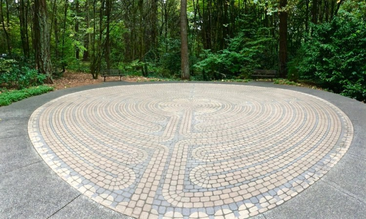 There's also a Labyrinth.