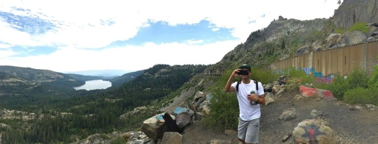 The views of Donner Lake and the surrounding peaks are stunning, and the old granite tunnels, trestles, and snowsheds make for an incredible trip.