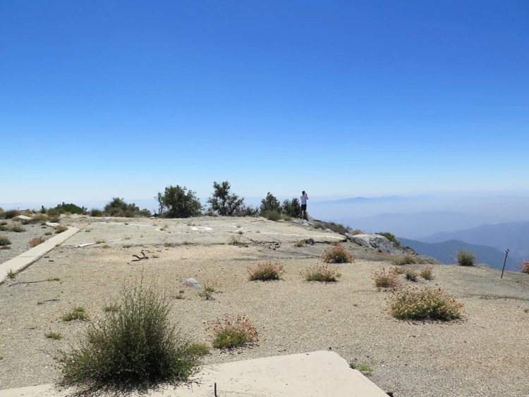 In the 1950s, the U.S. Army lowered/flatened Disappointment to make room for the Nike missile base. The peak's current elevation is 5,994 feet; San Gabriel's is 6,161.