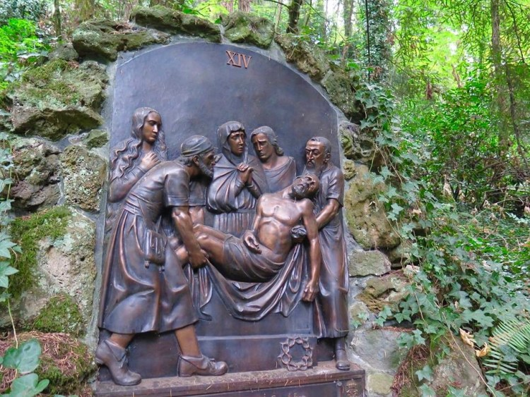 ...the 14 Stations of The Cross are def worth checking out.