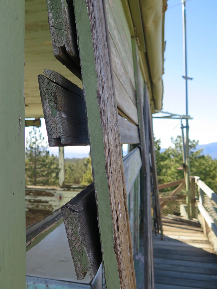 Currently there are nearly 1000 lookouts registered on the National Historic Lookout Register, and most have received some kind of maintenance...