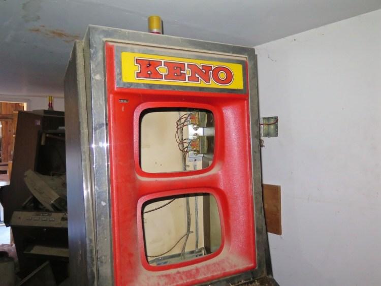 ...Keno machines...