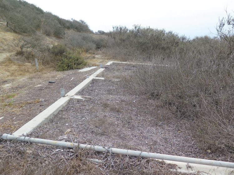 ...which include the old kennels where the dogs that were used to guard LA-43 would be boarded.