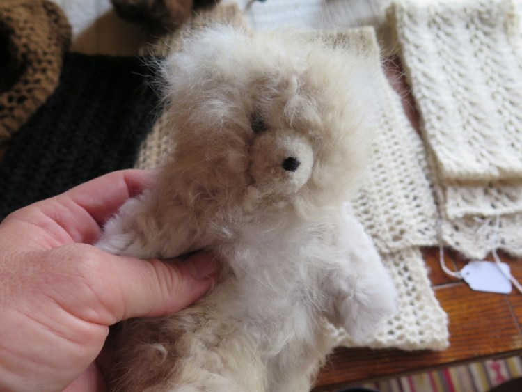 Alpaca wool can be spun into yarn or felted.